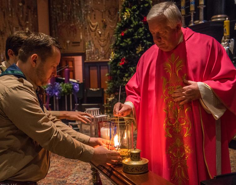 Betlejemskie Światło Pokoju w Amerykańskiej Częstochowie
