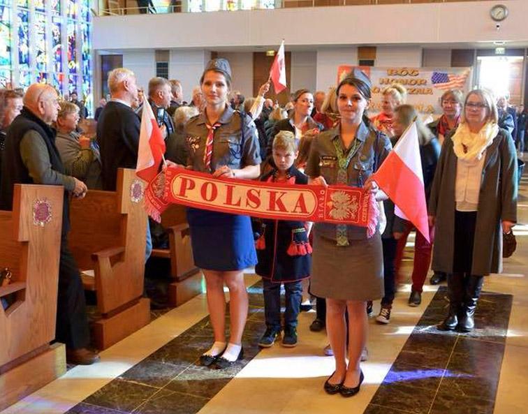 Obchody 100-lecia Niepodległości Polski w Amerykańskiej Częstochowie