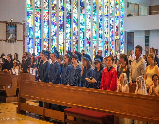 JMJ Homeschoolers Graduation Mass
